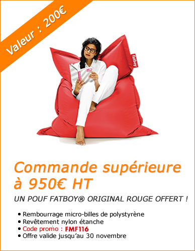 Pouf Fatboy® l'authentique