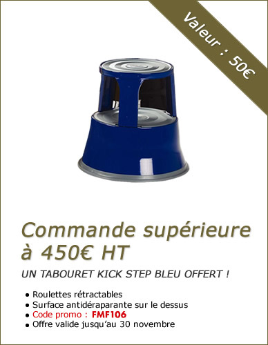 Tabouret Kick Step